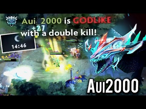 WTF 14 Min Godlike Winter Wyvern Super Carry Disaster Extreme Build by Aui_2000 Impossible Dota 2