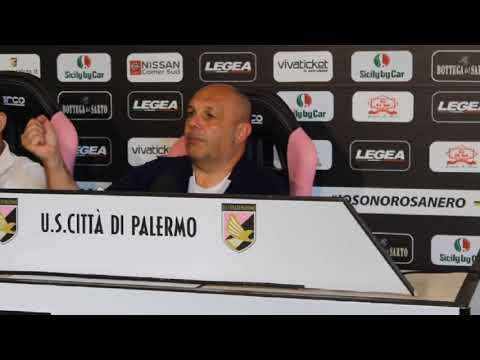 Tedino alla vigilia di Palermo-Perugia VIDEO