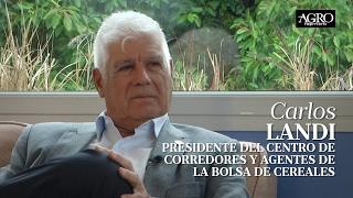 Carlos Landi - Pdte. del Centro de Corredores de la Bolsa de Cereales
