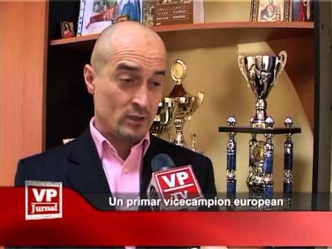Un primar vicecampion european