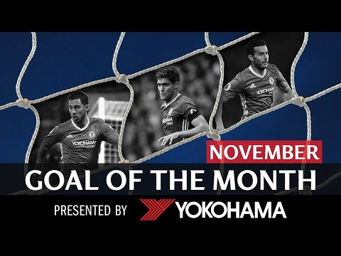 GOAL OF THE MONTH | November | HAZARD, ALONSO & PEDRO!