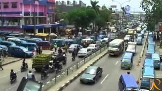 Depok Indonesia  City pictures : video indonesia Kota Depok Jalan Margonda