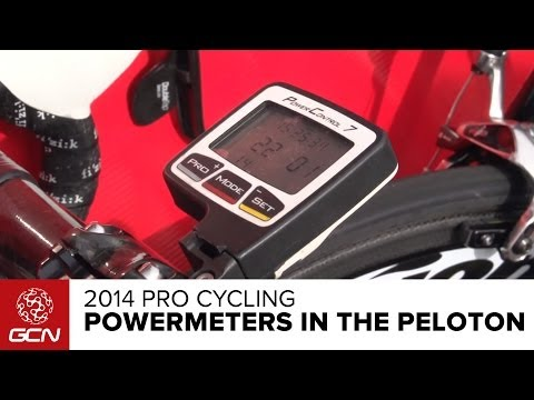the pro - Powermeters are used by nearly every professional cyclist. Subscribe to GCN on YouTube: http://gcn.eu/gcnsubs Powermeters have revolutionised how professiona...