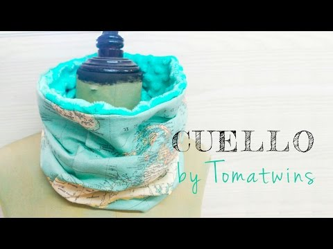 Tutorial DIY - Cuello Reversible Tipo Buff