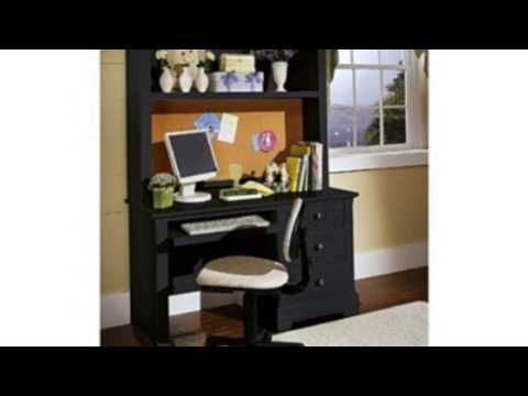 Video Newest video of the Cottage Computer Desk With Hutch Finish