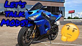 7. Let's Talk MODS! | Kawasaki ZX-6R 636
