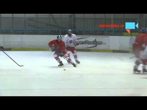 Trénink české hokejové reprezentace v Letňanech