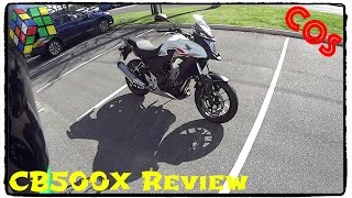 3. Honda CB500X Review