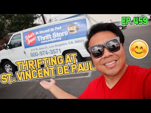 THRIFTING AT ST. VINCENT DE PAUL | GOODWILL HUNTING EP. 459