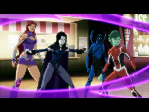 Justice League vs. Teen Titans (Clip 'Please Tell Me They're Undead')