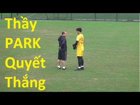 DKP đi xem HLV Park Hang Seo Quang Hải , Đoàn Văn Hậu , Bùi Tiến Dũng và U23 Việt Nam VS U23 Brunei - Thời lượng: 10:07.