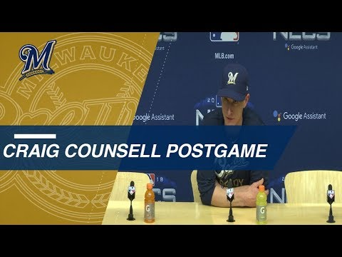 Video: NLCS Gm 7: Counsell on pitching struggles in Game 7