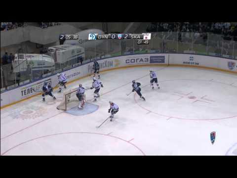 Hockey: Riktigt snygg målvaktsräddning