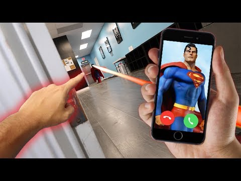 CALLING SUPERMAN ON FACETIME AT 3 AM!! *HE STARTED FLYING*