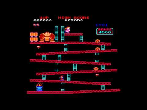 Donkey Kong (aka. Donkey Kong Emulator) for the TRS-80 CoCo