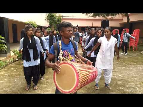 Sgm College Pandra  Welcome Song Teacher Day Rehalsal 14-09-2018