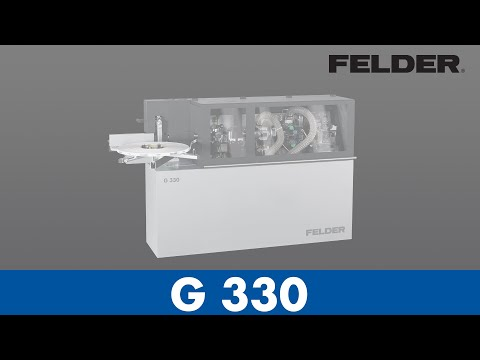 FELDER® - Edgebander G330 - Set Up (English)
