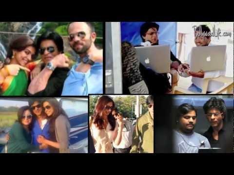Shahrukh Khan bonds with Chennai Express team