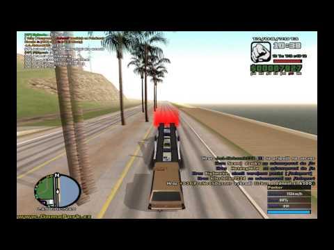 GTA San Andreas | Gamepark | řidïčák na truck + fanda | Part 6 | HD