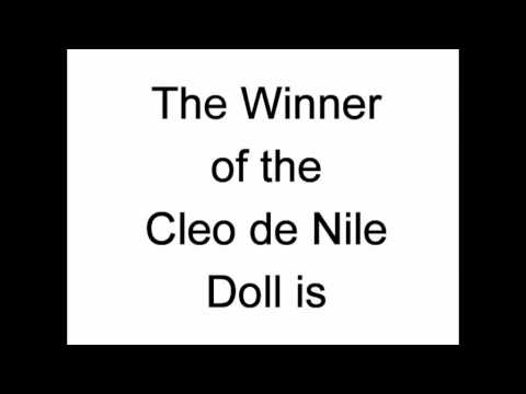 Congratulations! Monster High Cleo De Nile Doll Winner Announced!