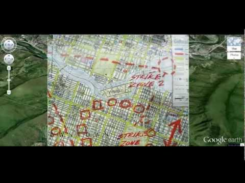 Narrows High School matches Batman Map for Strike Zone 2
