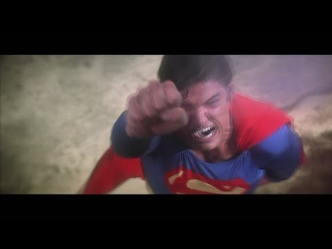 Man Of Steel Trailer #2 - Christopher Reeve Style