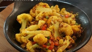 Ethiopian Food - Cauliflower&Ginger Vegan Tibs Recipes - Amharic English - Abeba Gomen