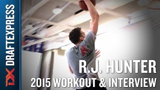 RJ Hunter 2015 NBA Draft Workout Video