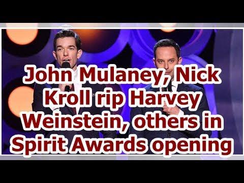 John Mulaney, Nick Kroll rip Harvey Weinstein, others in Spirit Awards opening
