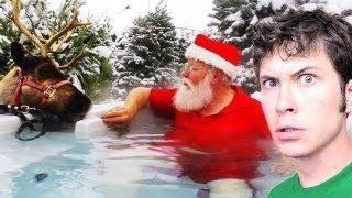CHRISTMAS HOT TUB