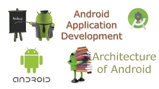 Learn Android Tutorial Application Development Architecture of AndroidAndroid Architectureandroid architecture or Android software stack is categorized into five parts:1. linux kernel2. native libraries (middleware),3. Android Runtime4. Application Framework5. Applications1) Linux kernelIt is the heart of android architecture that exists at the root of android architecture. Linux kernel is responsible for device drivers, power management, memory management, device management and resource access.________________________________________2) Native LibrariesOn the top of linux kernel, their are Native libraries such as WebKit, OpenGL, FreeType, SQLite, Media, C runtime library (libc) etc.The WebKit library is responsible for browser support, SQLite is for database, FreeType for font support, Media for playing and recording audio and video formats.________________________________________3) Android RuntimeIn android runtime, there are core libraries and DVM (Dalvik Virtual Machine) which is responsible to run android application. DVM is like JVM but it is optimized for mobile devices. It consumes less memory and provides fast performance.________________________________________4) Android FrameworkOn the top of Native libraries and android runtime, there is android framework. Android framework includes Android API's such as UI (User Interface), telephony, resources, locations, Content Providers (data) and package managers. It provides a lot of classes and interfaces for android application development.________________________________________5) ApplicationsOn the top of android framework, there are applications. All applications such as home, contact, settings, games, browsers are using android framework that uses android runtime and libraries. Android runtime and native libraries are using linux kernal.