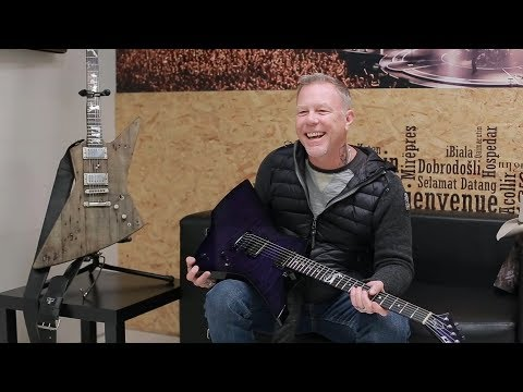 ESCLUSIVO: James Hetfield ci racconta ESP!