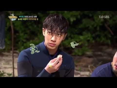 Video BEAST/B2ST - Lee Gikwang eating crab in a survival Tv Show download in MP3, 3GP, MP4, WEBM, AVI, FLV January 2017