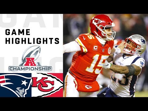 Patriots vs. Chiefs AFC Championship Highlights  NFL 2018 Playoffs