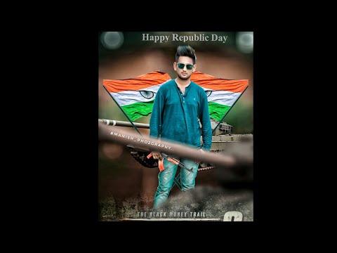 Republic Day Editing ||Picsart Editing By Manish photography
