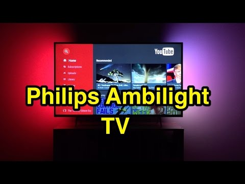Philips Ambilight 4k Smart TV Review (43PUS6401 6400 series)