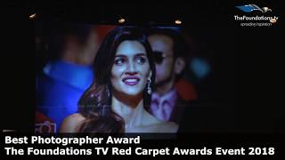 Aditi Dinakar wins The Foundations TV Best Photographer Award