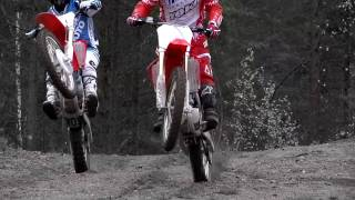 8. Honda CRF 250 promo video