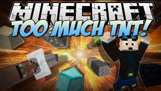 Minecraft | TOO MUCH TNT! (Over 35+ NEW TNTs&Explosives!) | Mod Showcase [1.6.4]