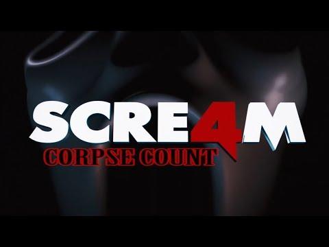 Scream 4 (2011) Carnage Count (видео)