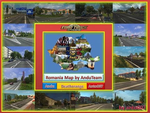 Romanian Map By AnduTeam 1.17