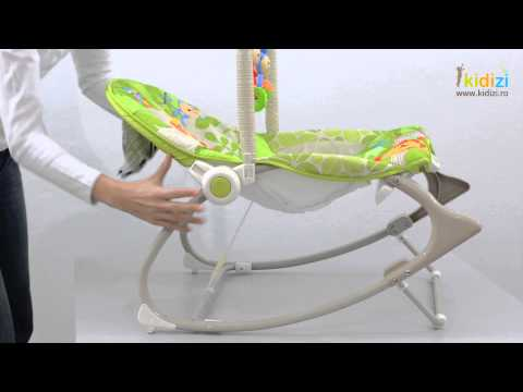 Prezentare video Fisher-Price Balansoar Rainforest Friends