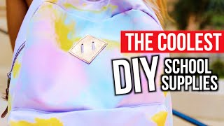 THE COOLEST DIY SCHOOL SUPPLIES | Mylifeaseva by MyLifeAsEva
