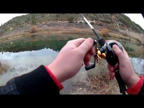 Pesca de Lucio a casting en el río Tajo