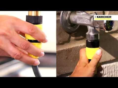 Новая мойка Karcher K 2.200 для чистки балконов