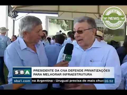 Canal do Boi: CNA defende privatizações para melhorar infraestrutura