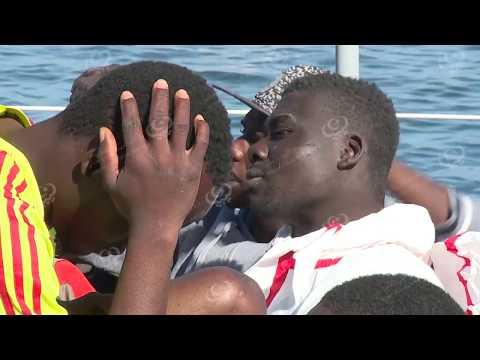 إنقاذ 223 مهاجر غير شرعي شمال غرب طرابلس