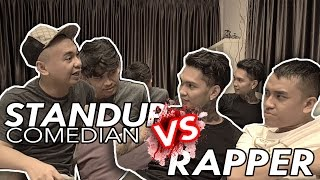 RADITYA DIKA & JEGEL NGE-ROAST YOUNG LEX ! - QnA Comic VS Rapper Video