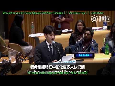 [Vietsub] 01022018 Bài phát biểu của Vương Nguyên Tại Liên Hợp Quốc