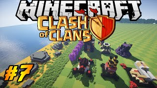 Clash of Clans in Minecraft | Making of #7 | Inferno, X bow, Wizard Tower!